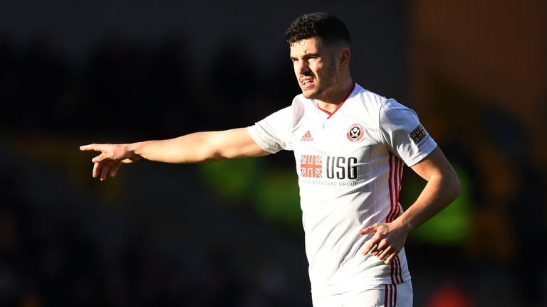 John Egan says communication is key in his role at the heart of Sheffield United's defence