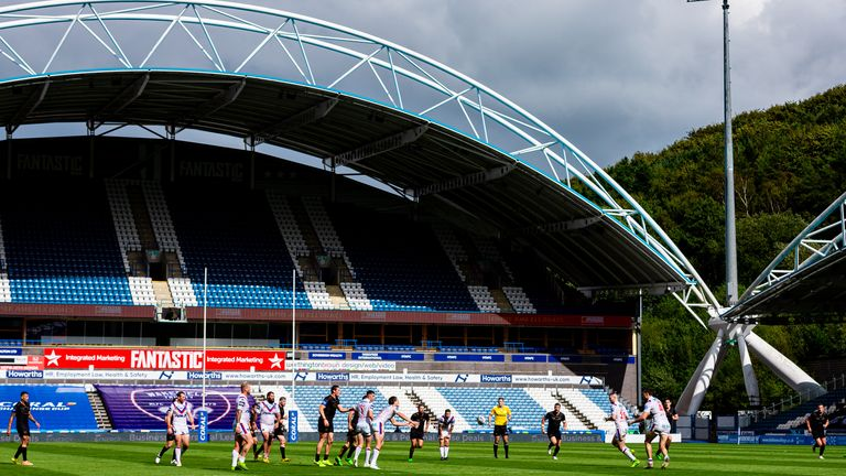 Wakefield and Huddersfield will face off at the John Smith's Stadium