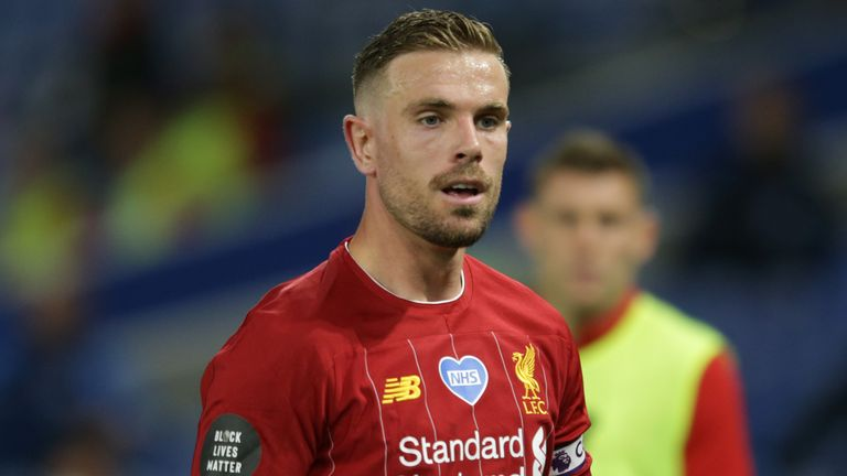 Liverpool captain Jordan Henderson led the club to their first ever Premier League title
