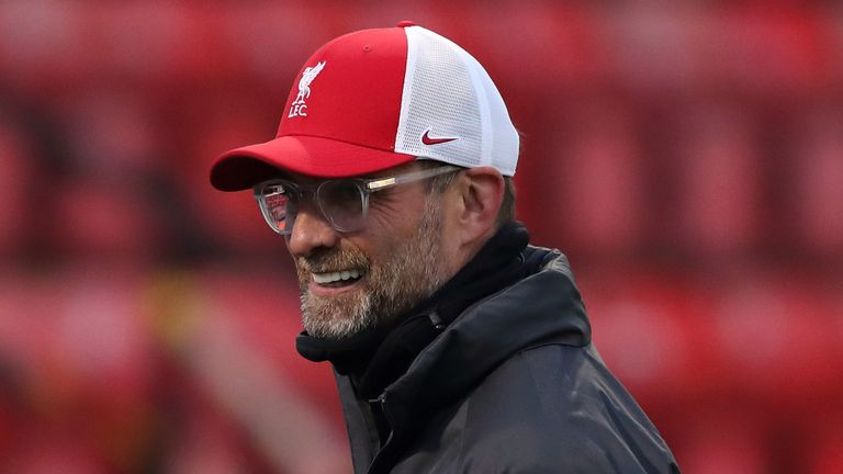 Jurgen Klopp says he does not spend time thinking about Liverpool's records
