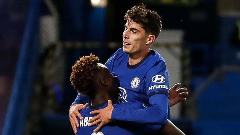 Chelsea 6-0 Barnsley: Kai Havertz hits hat-trick as Blues romp into round  four of Carabao Cup | Football News | Sky Sports