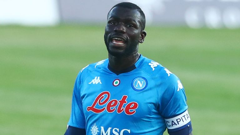 Manchester City have been long-time admirers of Napoli's Kalidou Koulibaly