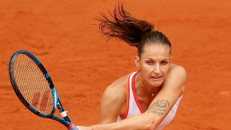 Karolina Pliskova had to go the distance against her opponent