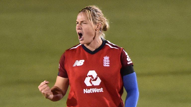Katherine Brunt, England Women, T20 vs West Indies
