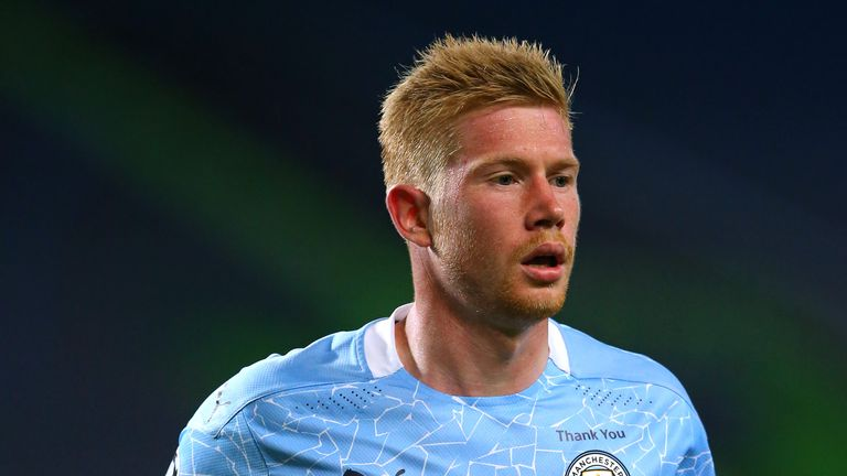 Kevin De Bruyne equalled the Premier League assist record with 20 last season