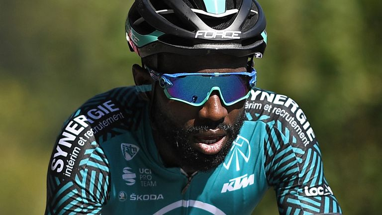 Tour De France Rider Kevin Reza Ready To Take Black Lives Matter Stand Cycling News Sky Sports