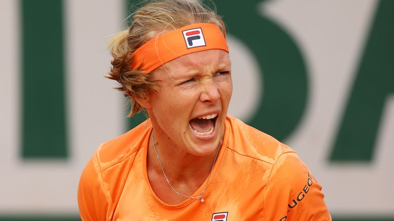 Kiki Bertens laughed off her opponent's comments