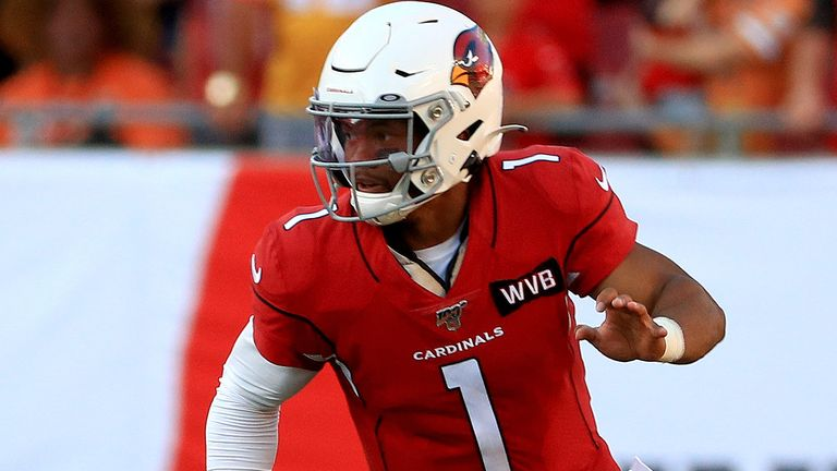 Kyler Murray is expected to improve considerably in his second season