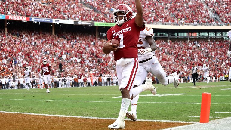 Murray's rushing prowess dates back to his days as an Oklahoma Sooner