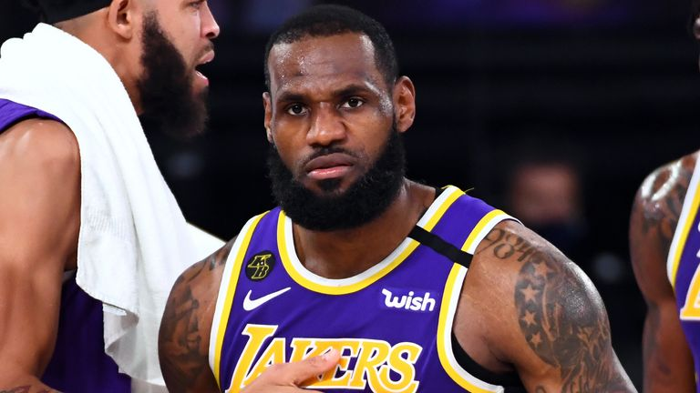 LeBron James is aiming for his third NBA championship