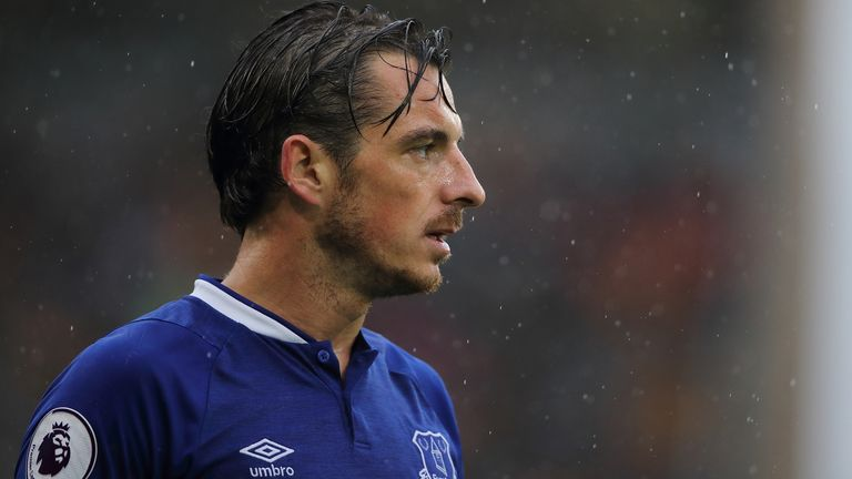 Leighton Baines retired from playing at the end of last season