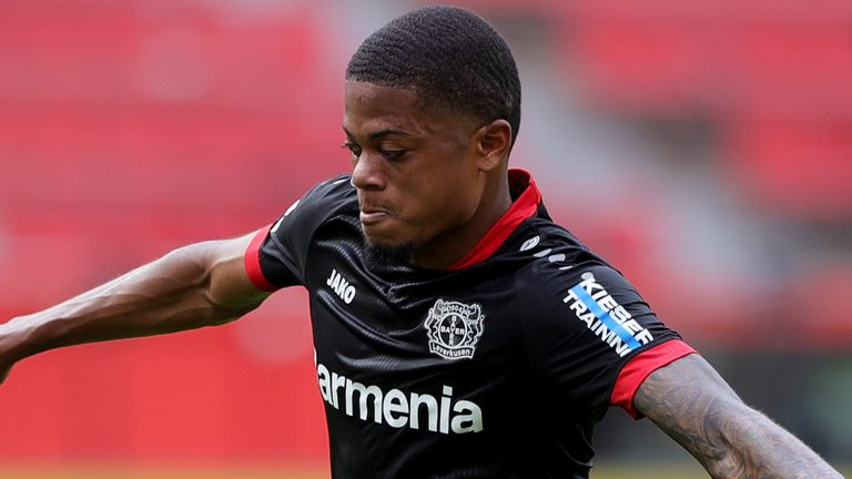Bayer Leverkusen winger Leon Bailey is keen on a move to the Premier League