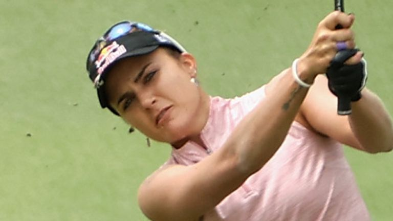 Lexi Thompson is just two behind going into the final round