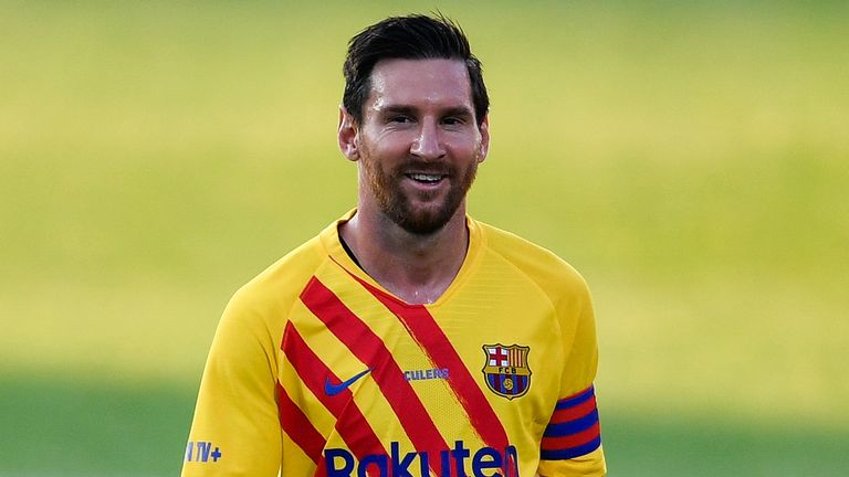 Barcelona beat Gimnastic with Lionel Messi captaining the side