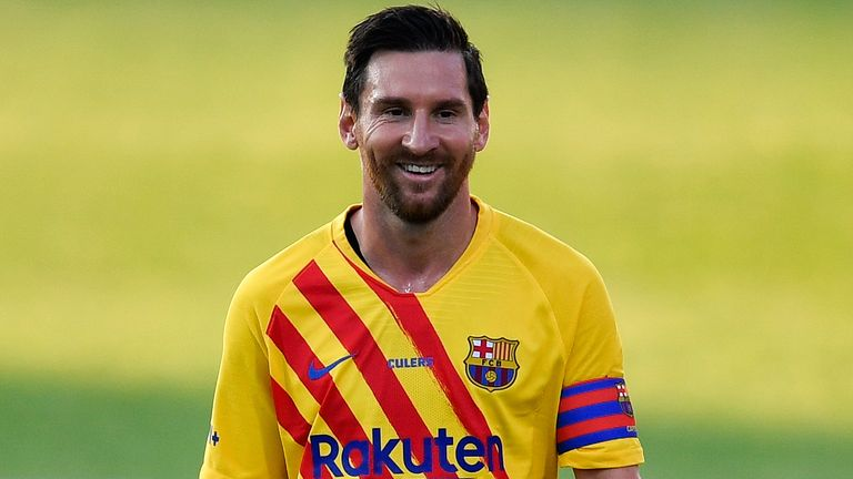 Lionel Messi Beats Cristiano Ronaldo To Top Footballers Rich List Football News Sky Sports