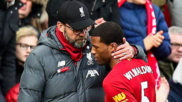 Georginio Wijnaldum and Jurgen Klopp will discuss the Netherlands midfielder's Liverpool future