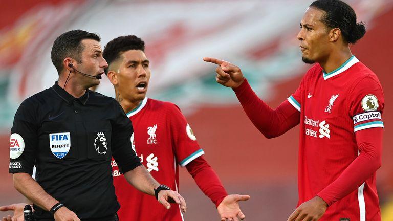 Liverpool Leeds Virgil van Dijk