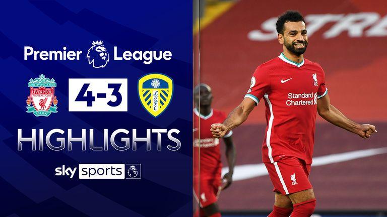 Liverpool 4 - 3 Leeds - Match Report & Highlights