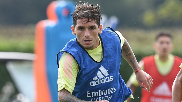 Torriera was not included in Arsenal's 23-man squad which beat Fulham on Saturday