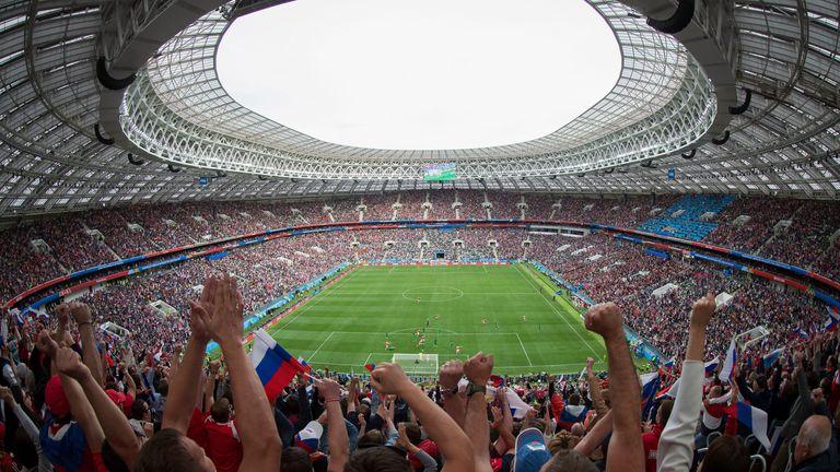 The 2018 World Cup final was at the Luzhniki Stadium