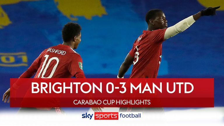 Man Utd v Brighton