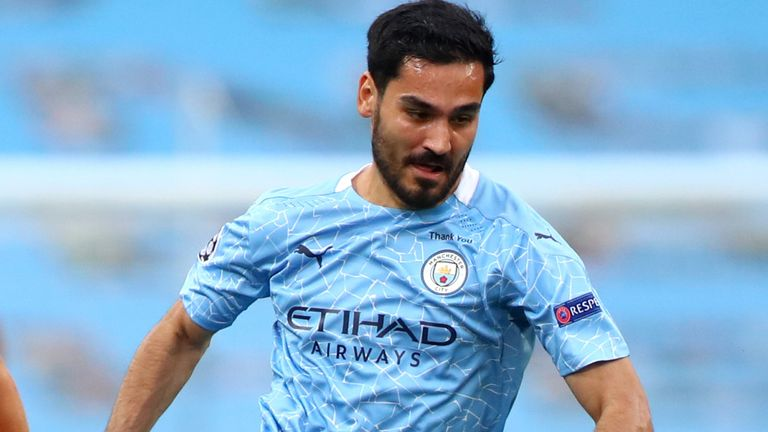 Ilkay Gundogan will miss Manchester City's opening Premier League game against Wolves after testing positive for coronavirus