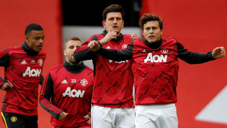 Harry Maguire is likely to partner Victor Lindelof at the back again this term