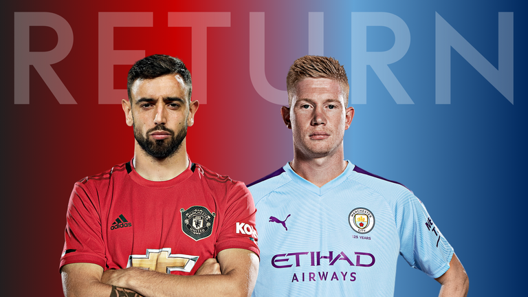The Manchester clubs make their return this weekend.