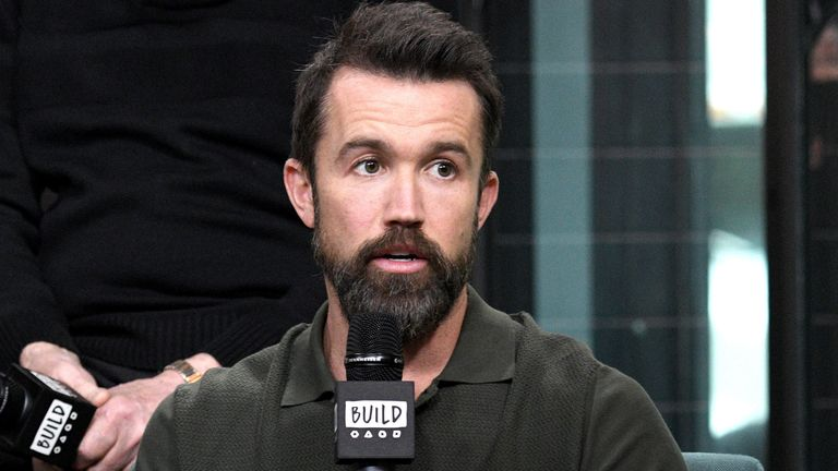 """Rob McElhenney visits the Build Series to discuss the Apple TV + series """"Mythic Quest: Raven's Banquet"""" at Build Studio on February 05, 2020 in New York City."""
