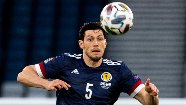 McKenna has won 16 caps for Scotland