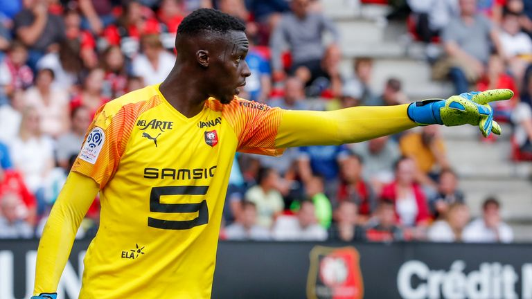 Edouard Mendy is set to move to Chelsea in a £22m deal