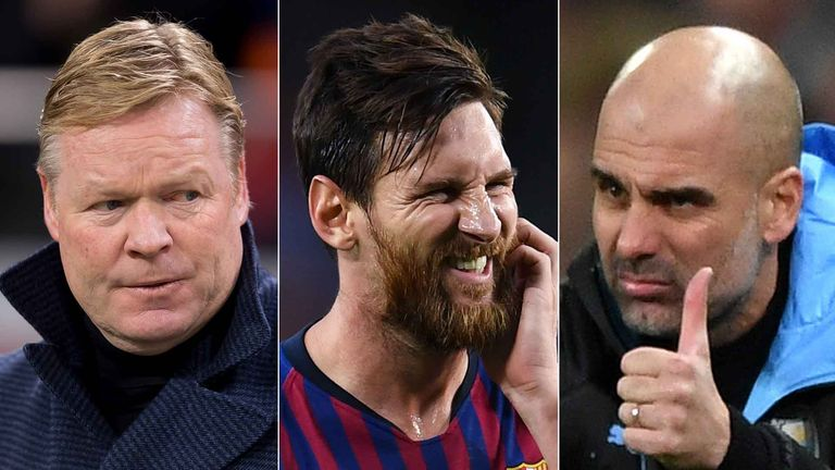 Will Lionel Messi be playing for Ronald Koeman or Pep Guardiola next season?