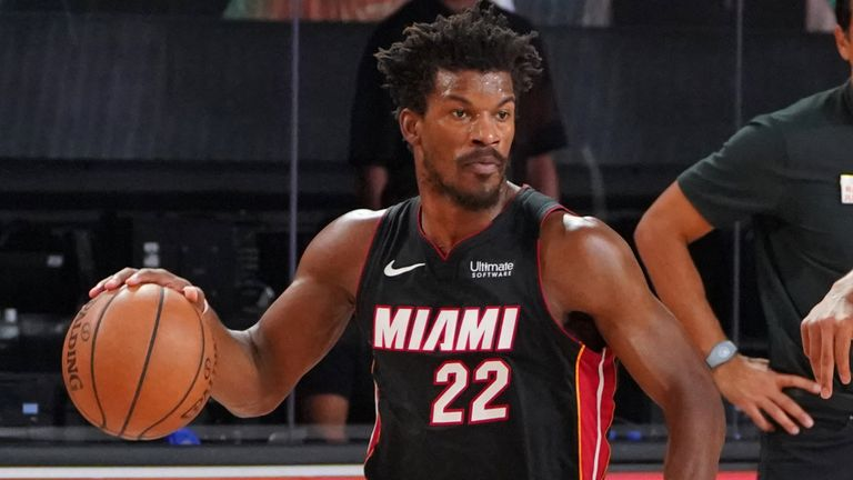 Jimmy Butler and Miami are into their first Finals since 2014