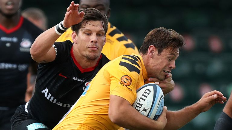 Rhodes was cited for a tackle made in Saracens' Champions Cup quarter-final win over Leinster