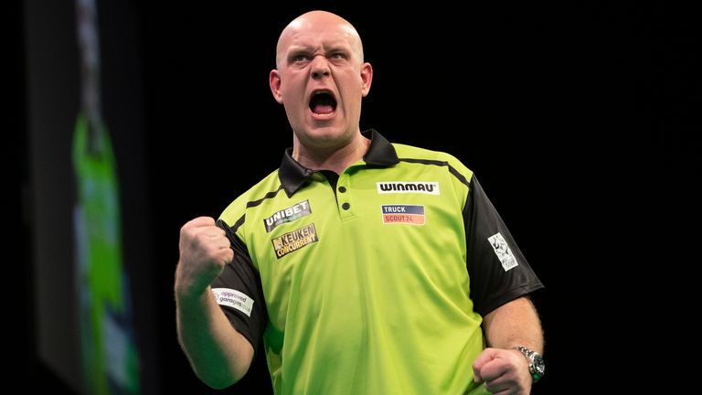 Michael van Gerwen will be looking to bounce back after his Premier League elimination