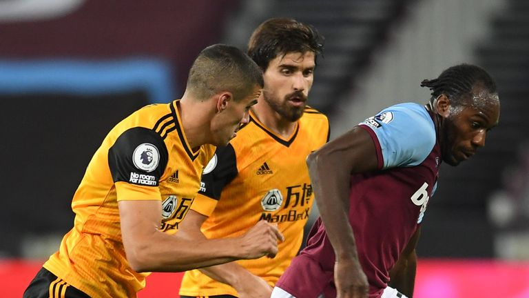 Wolves were unable to handle Michail Antonio at the London Stadium