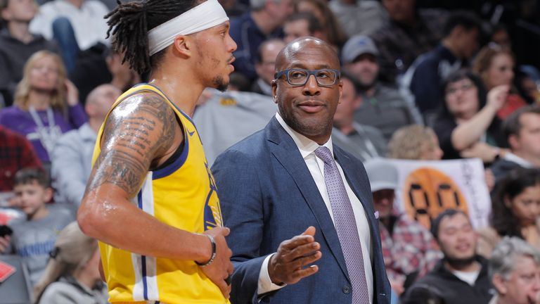 Mike Brown has been assistant coach at Golden State since 2016 but is a contender for the Indiana Pacers head coach role