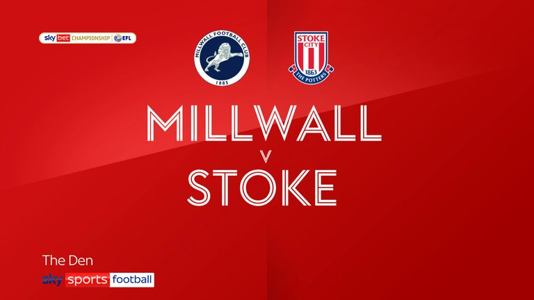 Millwall v Stoke badge