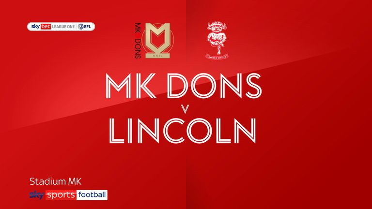 MK Dons Lincoln