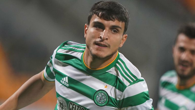Mohamed Elyounoussi netted on the stroke of 90 minutes for Celtic