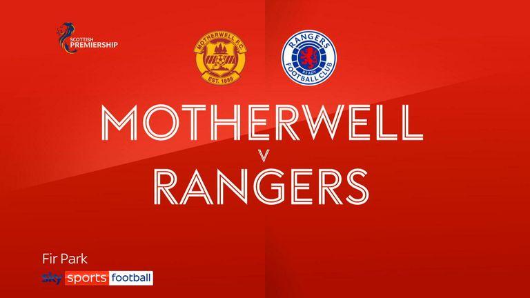Motherwell v Rangers badge