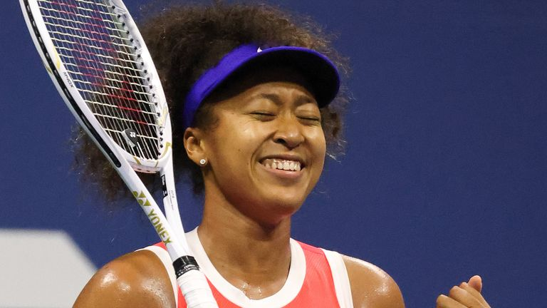 Naomi Osaka reached the US Open final for the second time in three years