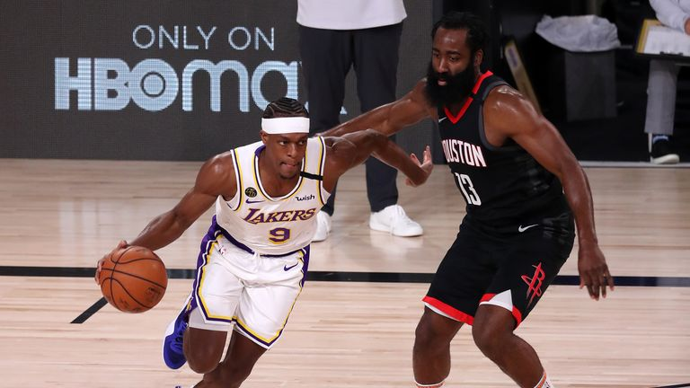 Isiah Thomas assesses Rajon Rondo's influence for the Los Angeles Lakers in their Game 3 triumph over the Houston Rockets.