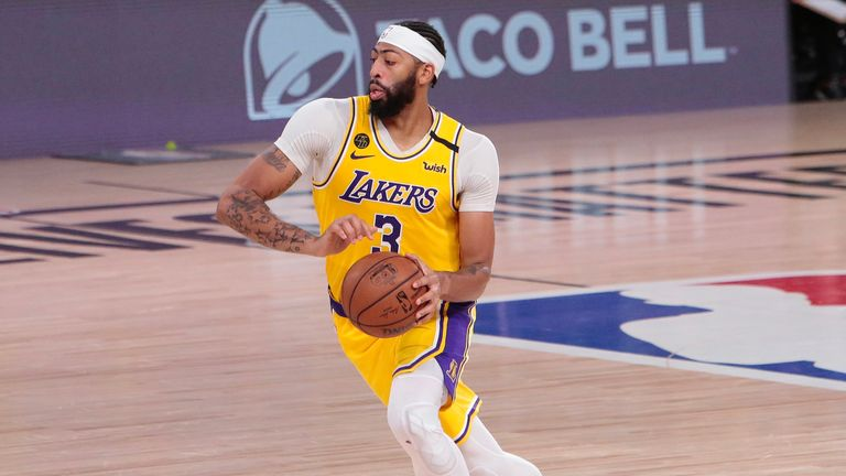 Check out Anthony Davis' best plays so far this season as the Los Angeles Lakers prepare to face the Miami Heat in the NBA Finals.