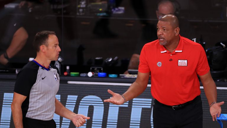 Los Angeles Clippers head coach Doc Rivers was disappointed in the aftermath of their Game 6 loss at the hands of the Denver Nuggets.