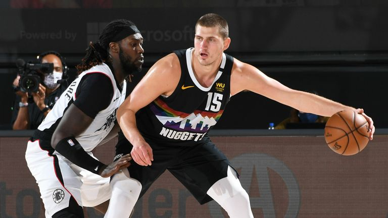 LA Clippers and the Denver Nuggets in Game Three of their NBA PLayoff