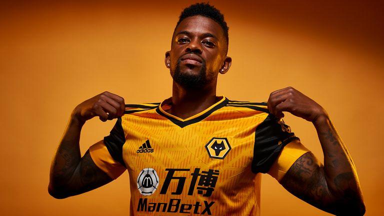 Wolverhampton Wanderers unveil new signing Nelson Semedo