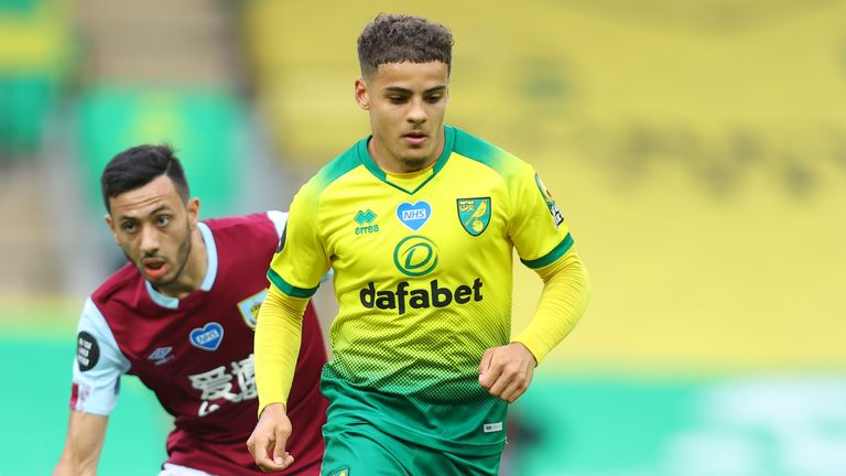Max Aarons impressed for Norwich last season in the Premier League