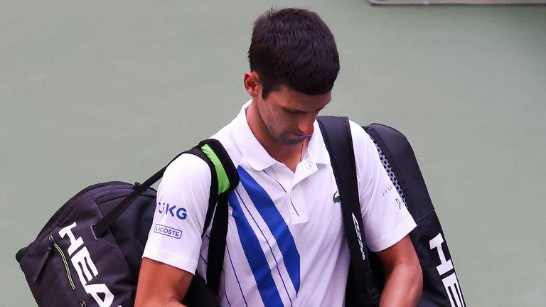 Novak Djokovic Us Open Default Adds To Damaging 2020 Tennis News Sky Sports