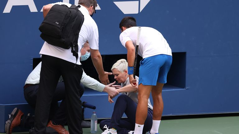 Novak Djokovic Says He Will Never Forget The Incident Which Resulted In His Us Open Disqualification Tennis News Sky Sports